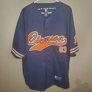 Clemson Tigers Jersey Mens XL